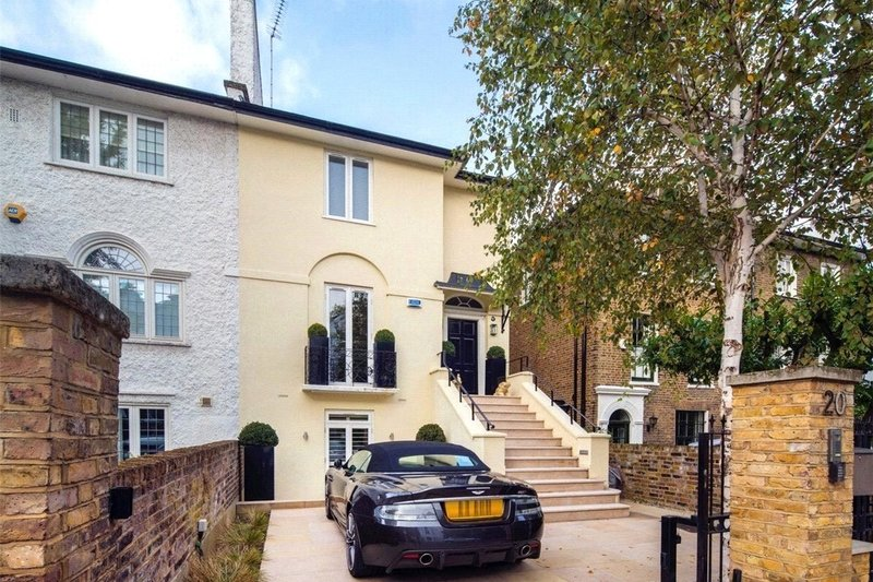 4 Bedroom House for sale in St John's Wood, London,  NW8 9QG