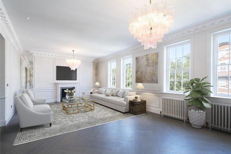 3 Bedroom Flat for sale in Prince Albert Road, London,  NW8 7RE