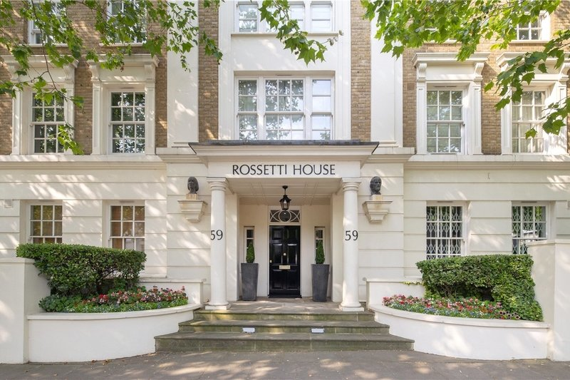 3 Bedroom Flat for sale in 59 Ordnance Hill, London,  NW8 6QF