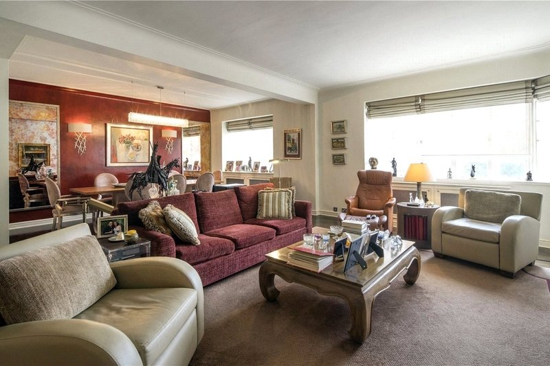 2 Bedroom Flat for sale in Prince Albert Road, London,  NW8 7LB