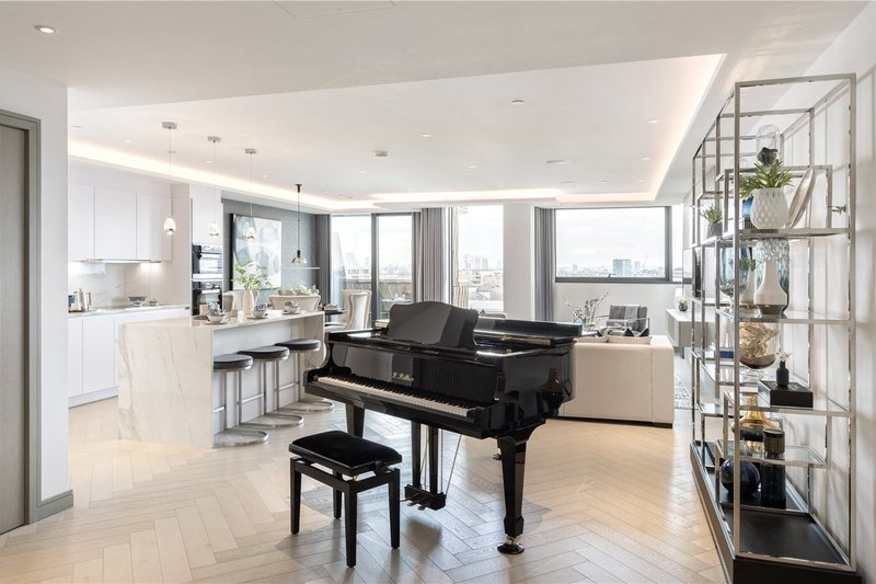 3 Bedroom Flat for sale in 30 Lodge Road, London,  NW8 8LA
