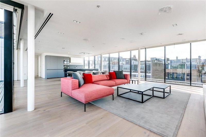 3 Bedroom Flat to rent in 116 Bayham Street, London,  NW1 0BA