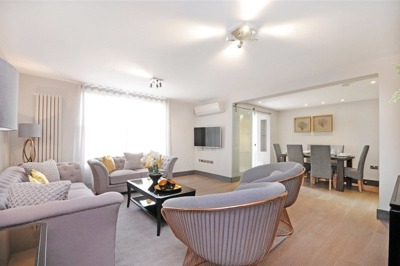3 Bedroom Flat to rent in St. John's Wood Park, London,  NW8 6NL