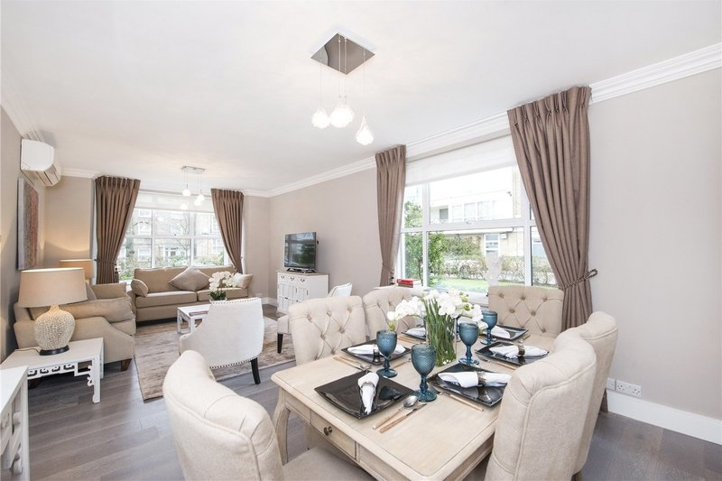 3 Bedroom Flat to rent in St Johns Wood Park, London,  NW8 6NG