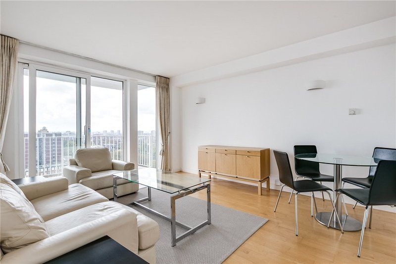 1 Bedroom Flat to rent in Boundary Road, London,  NW8 6NS