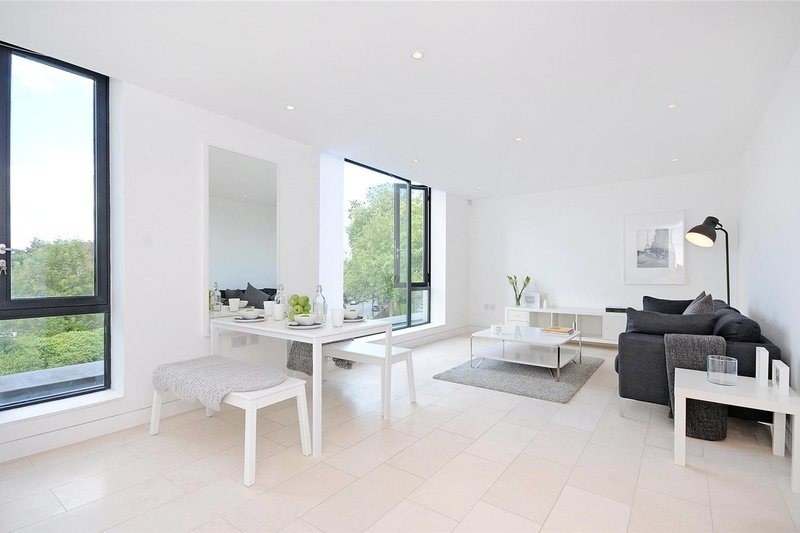 1 Bedroom Flat to rent in Oval Road, London,  NW1 7EU
