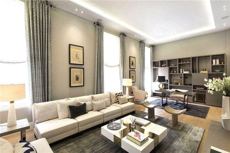 3 Bedroom Flat to rent in The Park Crescent, London,  W1B 1PG