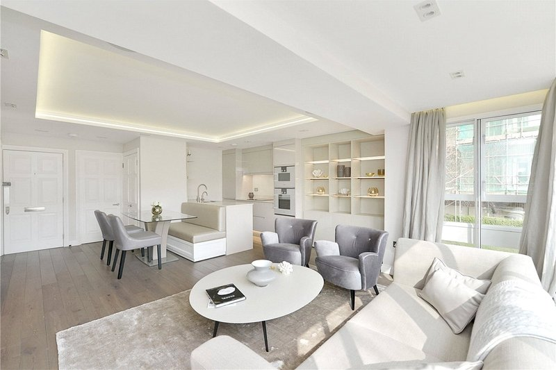 2 Bedroom Flat to rent in London, London,  NW8 7SA