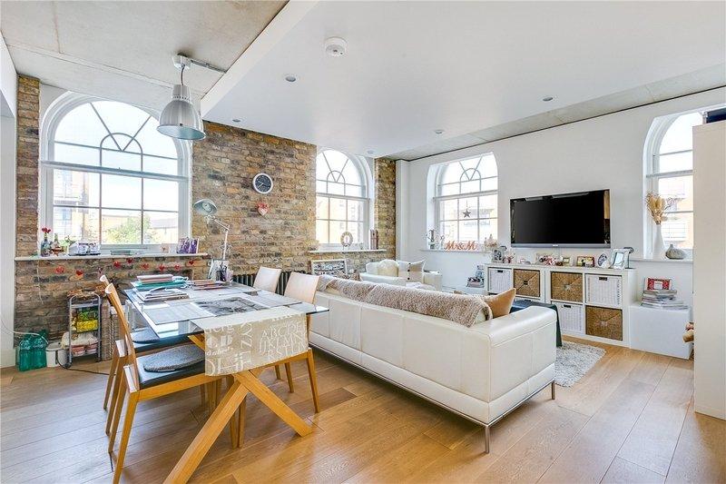 1 Bedroom Flat to rent in Oval Road, London,  NW1 7DE